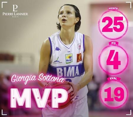 Giorgia SOTTANA, en pleine forme en ce début de saison