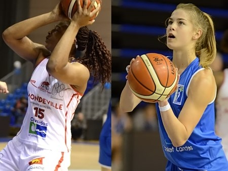 Si Mondeville gagne avec une Shelby SAINT-JUSTE de gala, il y a fort à parier que Basket Landes gagnera bientôt avec une Célia CARDENAL de gala elle aussi