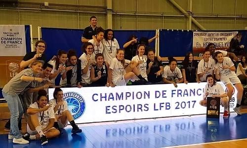 Nantes, Champion de France Espoir (photo Marc PERAIS)