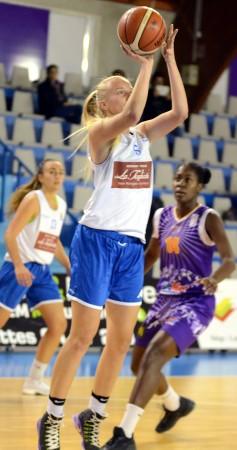 Bon match (12 points) pour Anaïs BRO et ses copines fece à Tarbes