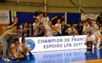 Nantes, Champion de France Espoir (photo Marc PERAIS)