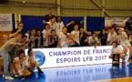 Espoirs : Nantes conserve son titre et sa place en NF1, Lyon argenté