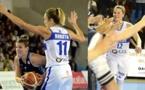 Eweline KOBRYN face à Nantes et Gaëlle SKRELA la saison dernière : les 2 jeunes femmes font l'actualité du BLMA en ce début de semaine