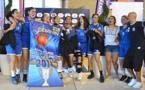 Le BLMA, vainqueur de la Coupe U15