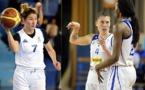 Claire BADY pour les U18, Anaël LARDY et Mame-Marie SY-DIOP pour les pros, un même objectif : la victoire !