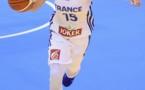 Anaël LARDY sous le maillot tricolore (photo FIBA Europe)