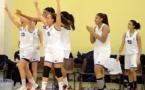 """Le """"5"""" de départ, sur le banc lors des dernières secondes, peut exulter : le BLMA rencontrera Lyon en finale U18 !"""