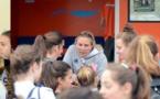 Camille et Manon parmi les coachs d'un jour, Julie la grande GO de la journée et Lyon, vainqueur en U13