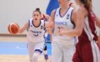 Lisa BERKANI à l'attaque, déterminée (photo FIBA Europe)