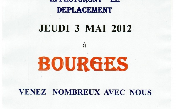 Tous à Bourges pour le match #2!