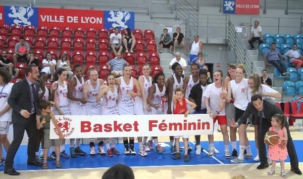 Lyon Basket Féminin Espoirs: définitivement Championnes, complètement Championnes, totalement Championnes!