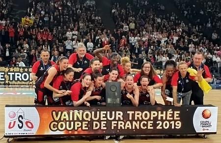 Orthez, vainqueur de Voiron en finale de la Coupe de France 2019