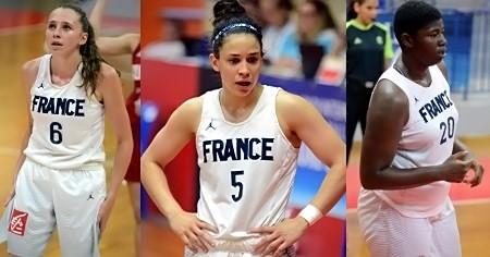 Camille DROGUET, Coline FRANCHELIN et Serena MANALA : à vous de jouer !