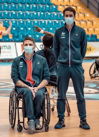 Frédéric GUYOT et Guillaume LEFEUVRE son adjoint