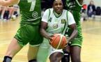 Awa NIANGHANE : 4 points seulement mais une bonne dizaine de rebonds
